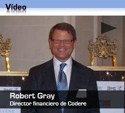 Entrevista a Robert Gray, director financiero de Codere
