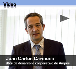 Entrevista a Juan Carlos Carmona, dtor gral de desarrollo corporativo de Amper