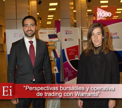 Perspectivas bursátiles y operativa de trading con warrants