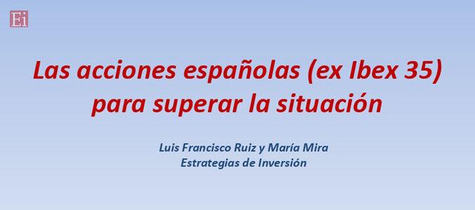 Las acciones españolas para superar la situación