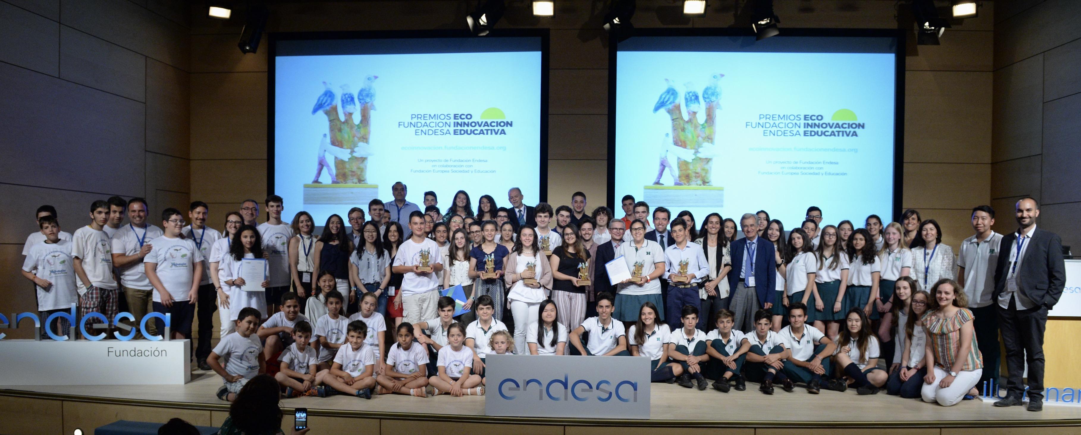 ganadores premios Ecoinnovacion Educativa Fundación Endesa