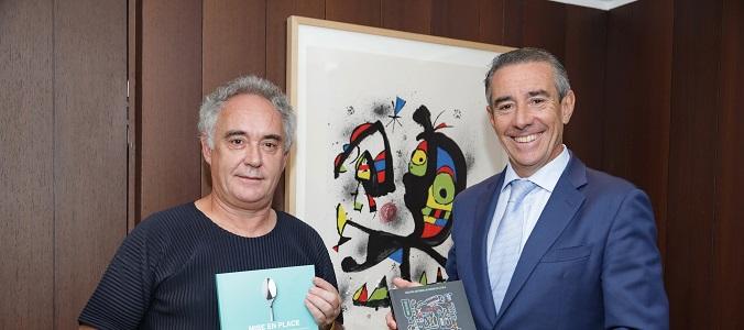 Ferrán Adriá y Juan Antonio Alcaraz