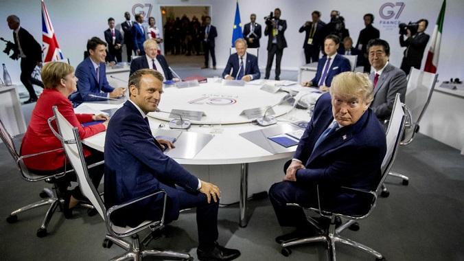 Mercados y G7. Trump mueve los mercados desde el G7 al hablar de China