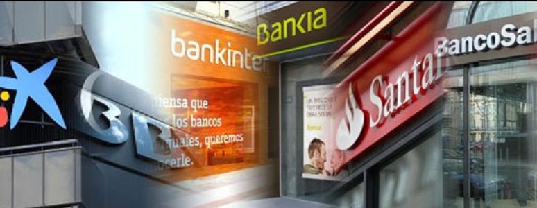 Los bancos del Ibex35 han subido del orden del 5% ¿Dónde se encuentran?