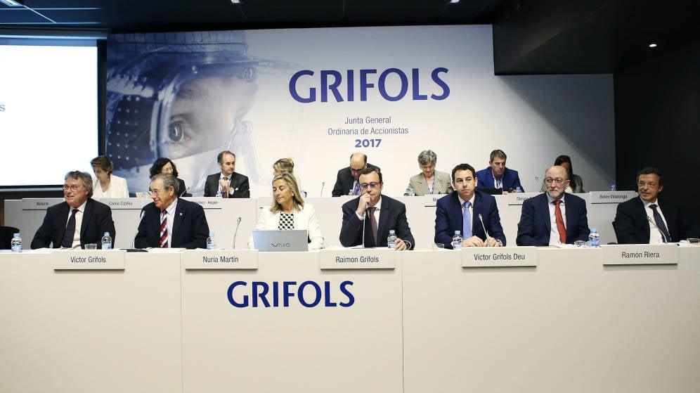Las acciones de Grifols suben casi un 38% en lo que va de año, superando los 31 euros