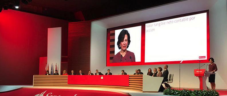 Banco Santander: sin visibilidad para los analistas tras sus resultados