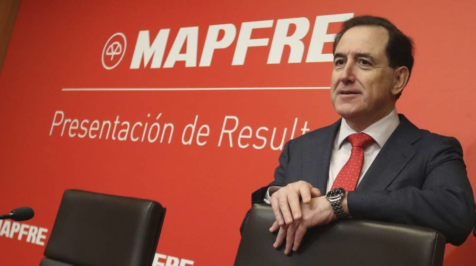 El beneficio de Mapfre en los nueve primeros meses del año caen un 2,7%