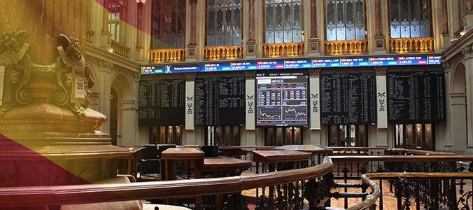 El Ibex 35, farolillo rojo en Europa . Wall Street cierra en negativo y China constata su desaceleración