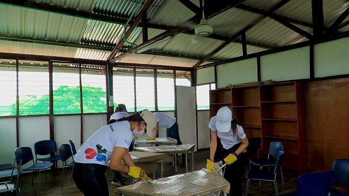 La Fundación Sacyr colabora con ONG de América Latina para cubrir necesidades por el Covid