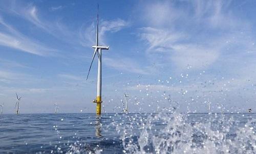 Imagen de turbinas eólicas 'offshore'