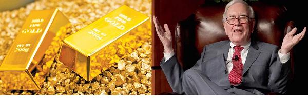 Oro y Barrick Gold ¿es buena idea seguir la estrategia de Warren Buffett?