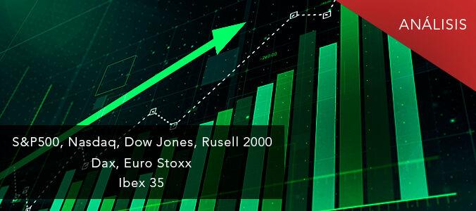 S&P500, Nasdaq, Euro Stoxx, Ibex: a las bolsas les cuesta caer.