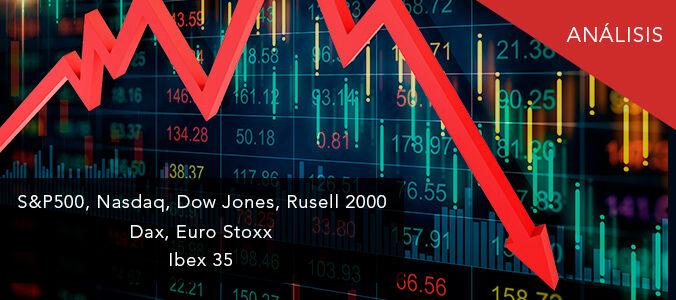S&P500, Nasdaq, Euro Stoxx, Ibex 35: ¿Ha comenzado la corrección?