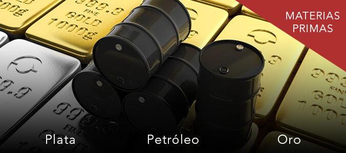 Petróleo bajista, Oro y plata alcistas. ¿Oportunidades de trading en CP?
