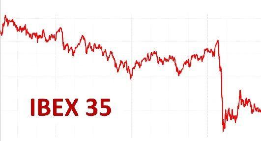 Ibex 35: la bolsa sí refleja la situación de la economía, pierde un 27,29%.