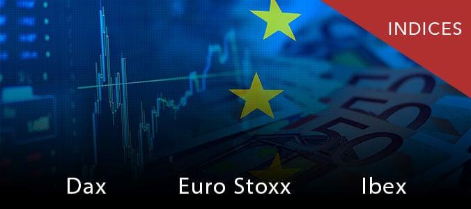 Ibex35, bolsas europeas: Bancos rompen la tendencia, subida descomunal