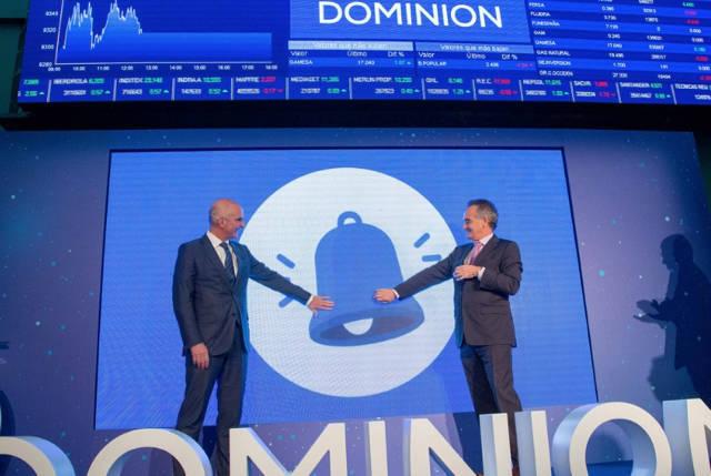 Global Dominion gana un 6% entre enero y septiembre hasta los 16,3 millones