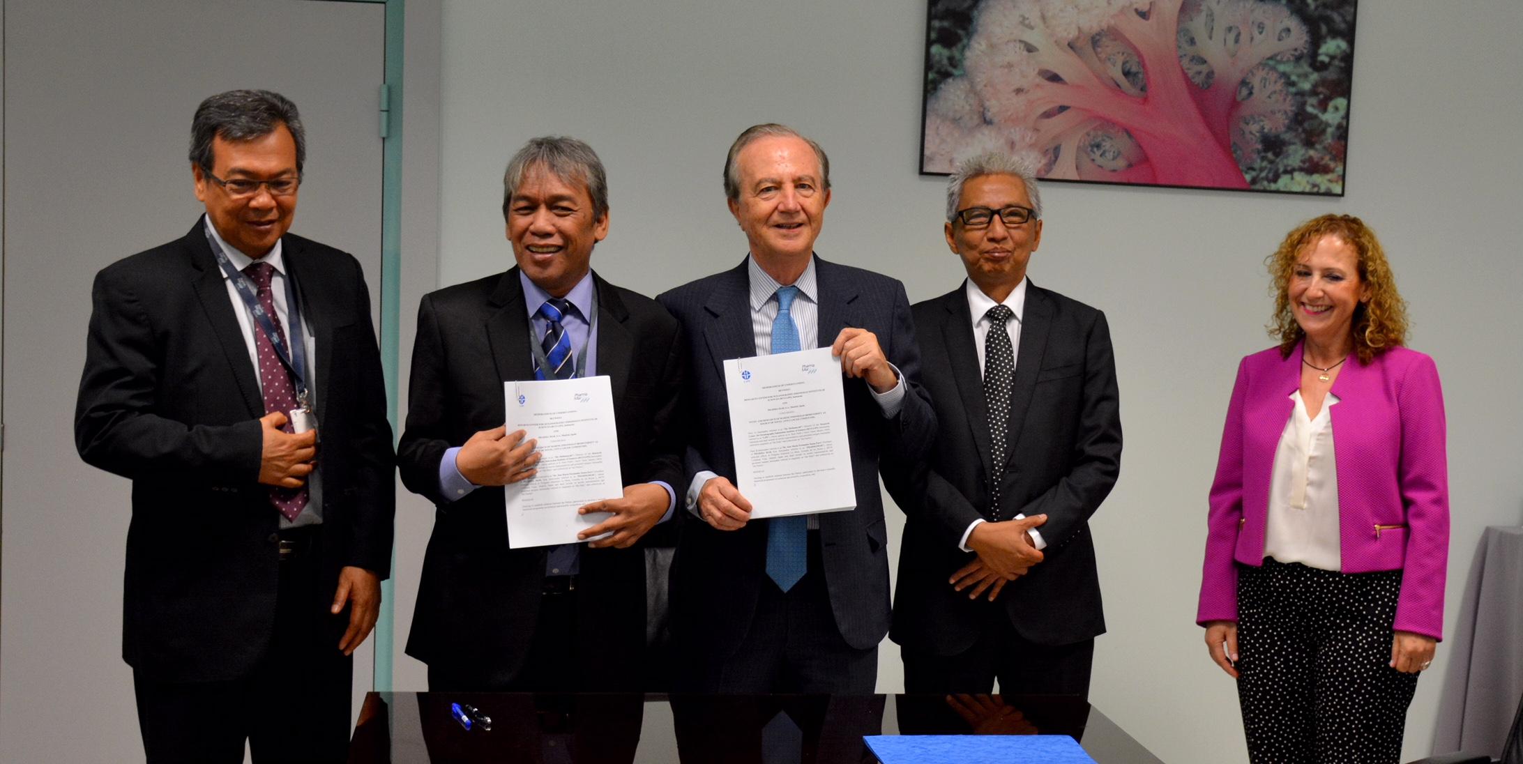 Pharma Mar acurdo con centro de Indonesia para estudio antitumoral