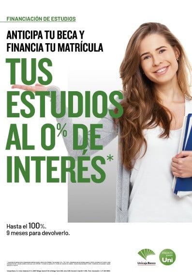 Unicaja Banco facilita la financiación de estudios universitarios
