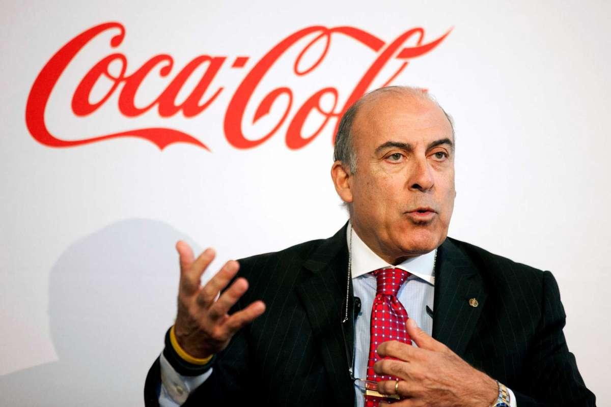 CEO de coca cola que lidera subidas del mercado continuo