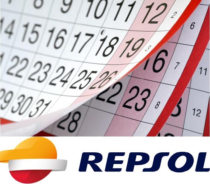 Repsol calendario dividendo flexible