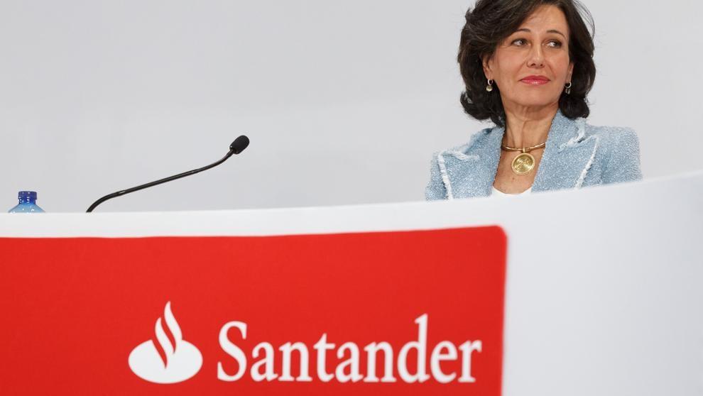 Santander banco más solvente en bolsa y resultados financieros