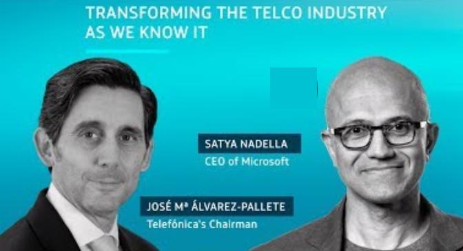 Acuerdo Telefonica y Microsoft