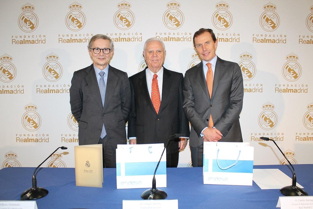 Acuerdo Fundación Endesa y Real Madrid