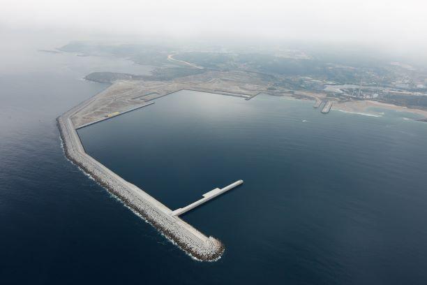 Puerto exterior Punta Langosteira, A Coruña, OHL