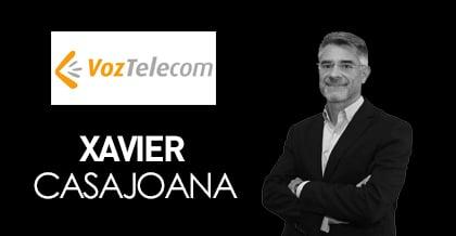Xavier Casajoana, CEO de Voz Telekom