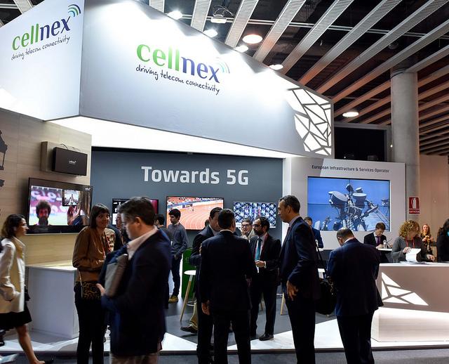 Cellnex Telecom en Congreso 5G