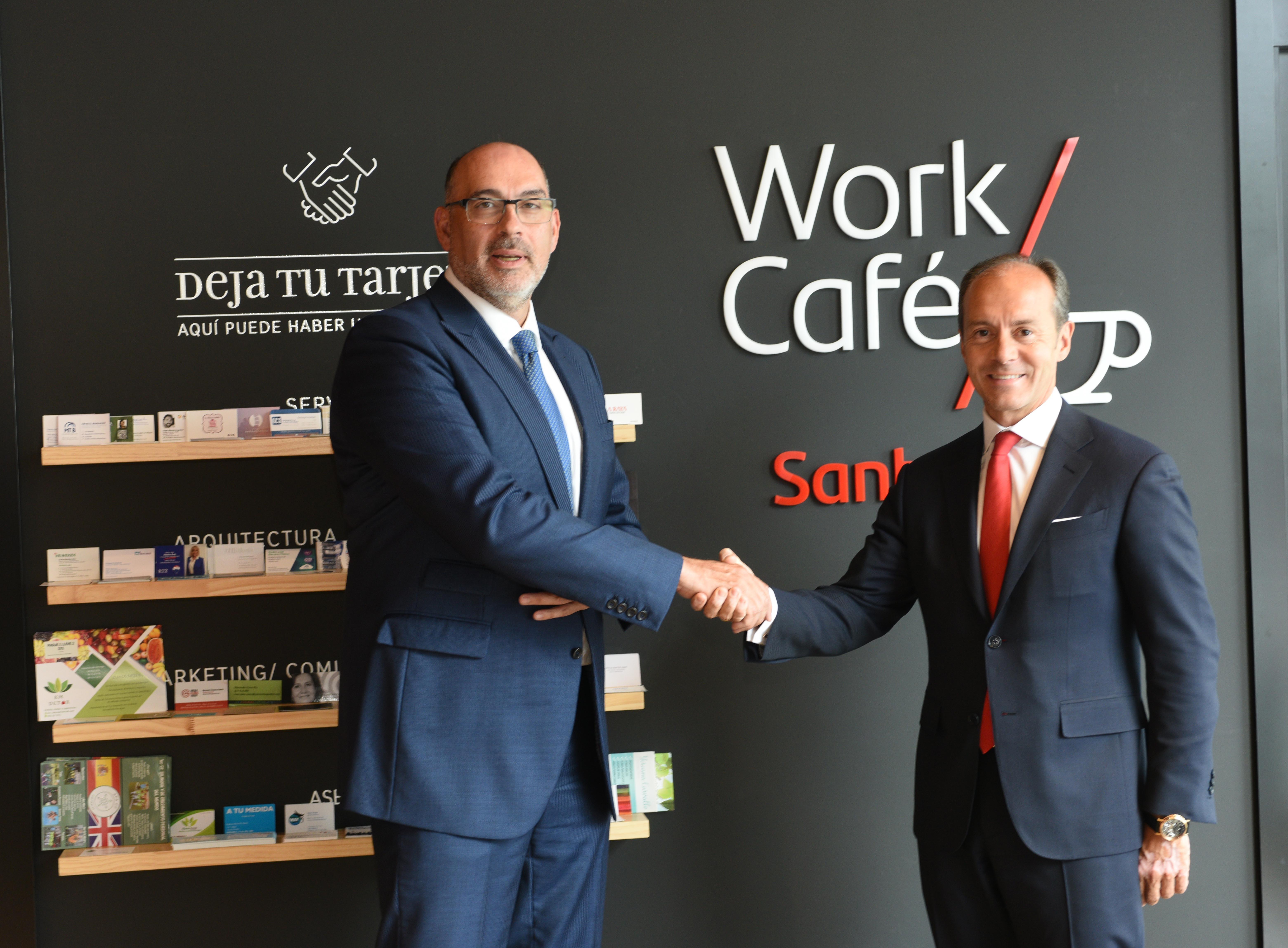 Acuerdo Banco Santander  y Telefonica 5G