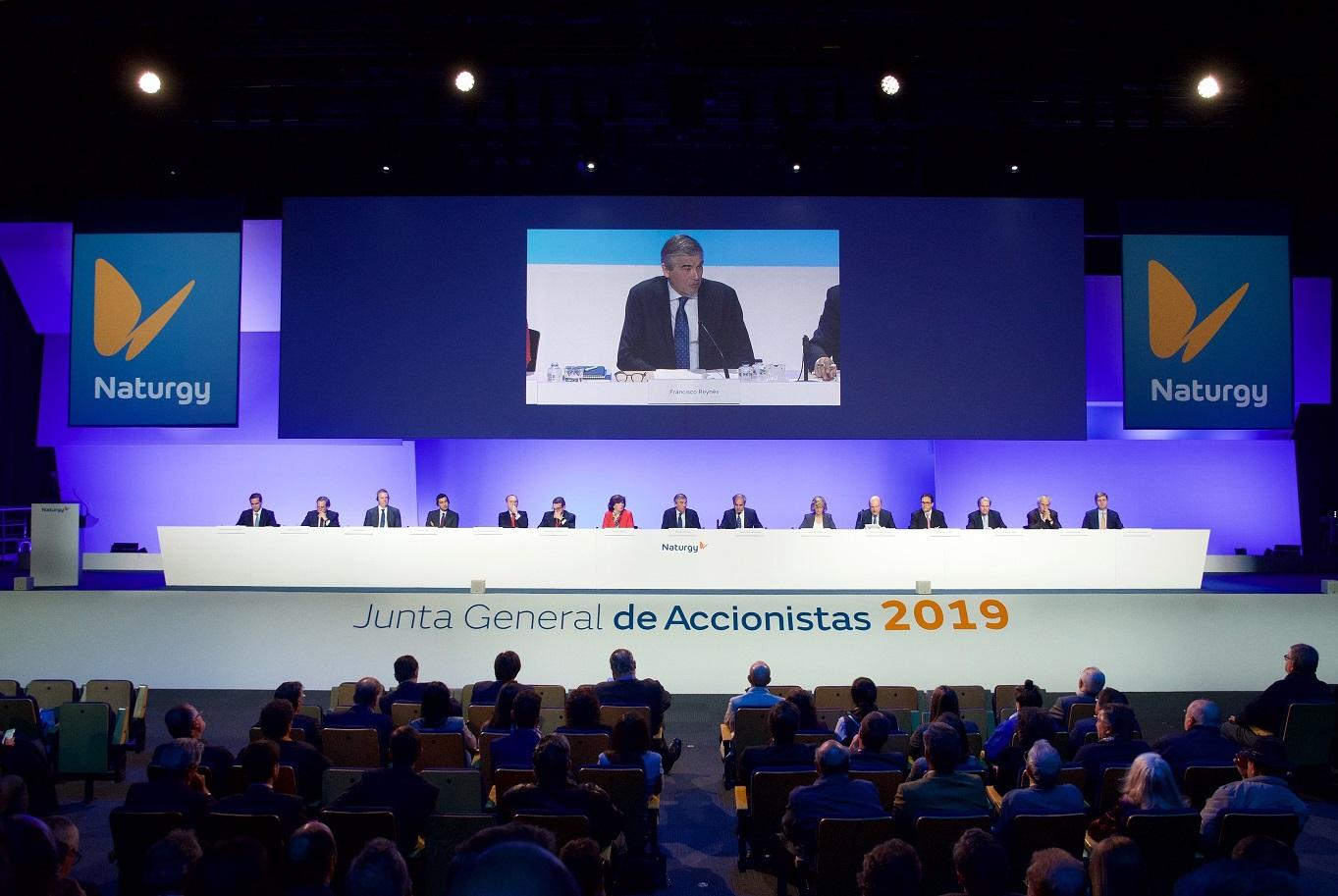Naturgy aprueba dividendo en junta 2019