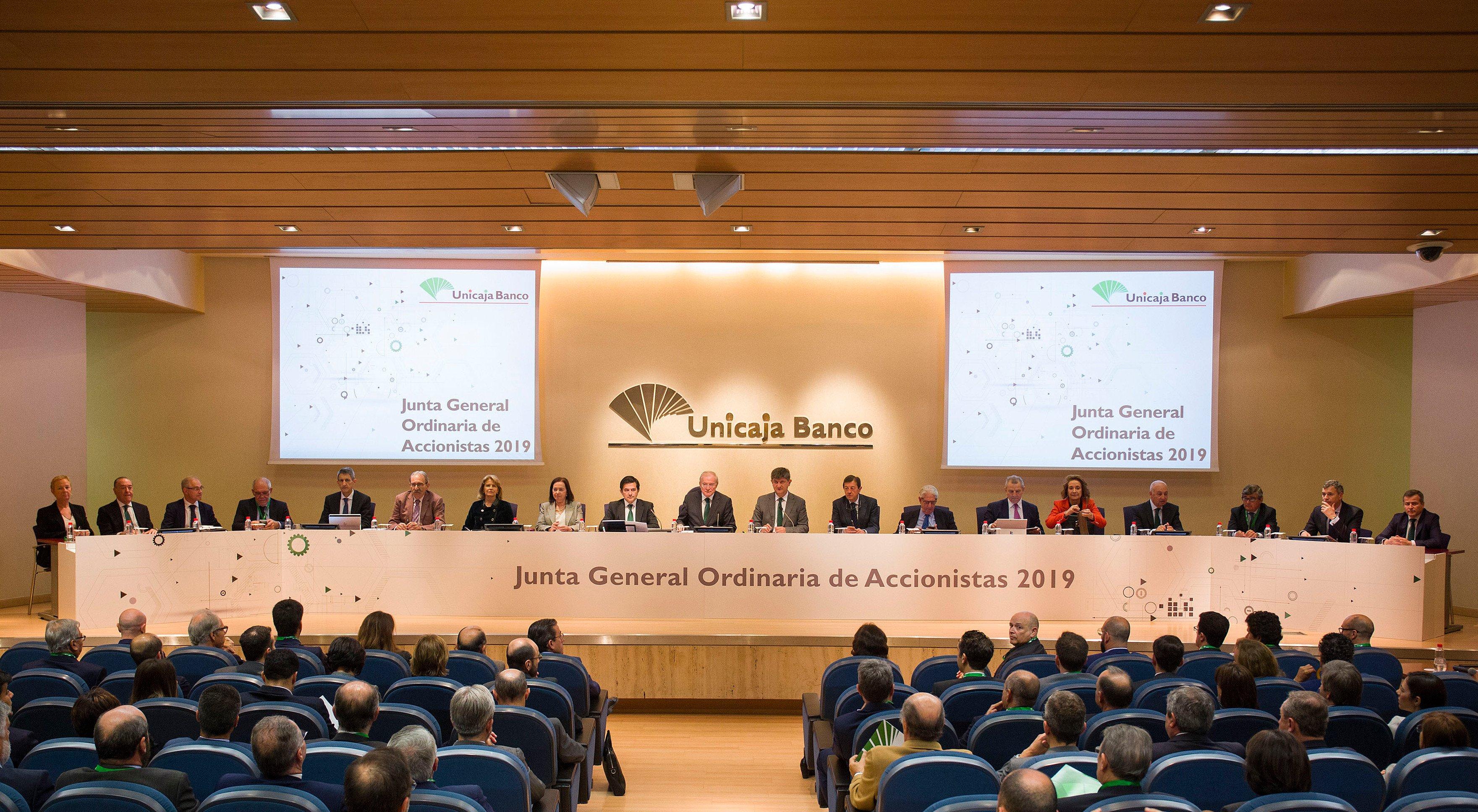 Unicaja_Banco._Junta_de_Accionistas_2019