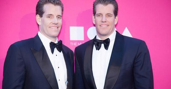 Los hermanos Winklevoss  les indemnizó Facebook