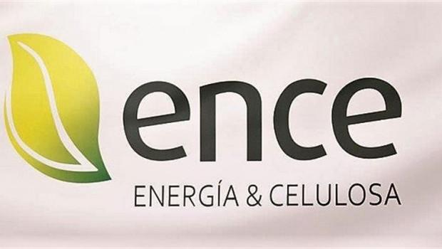 Logo de ENCE, Energía y Celulosa
