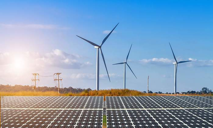Planta solar y eólica de Grenergy