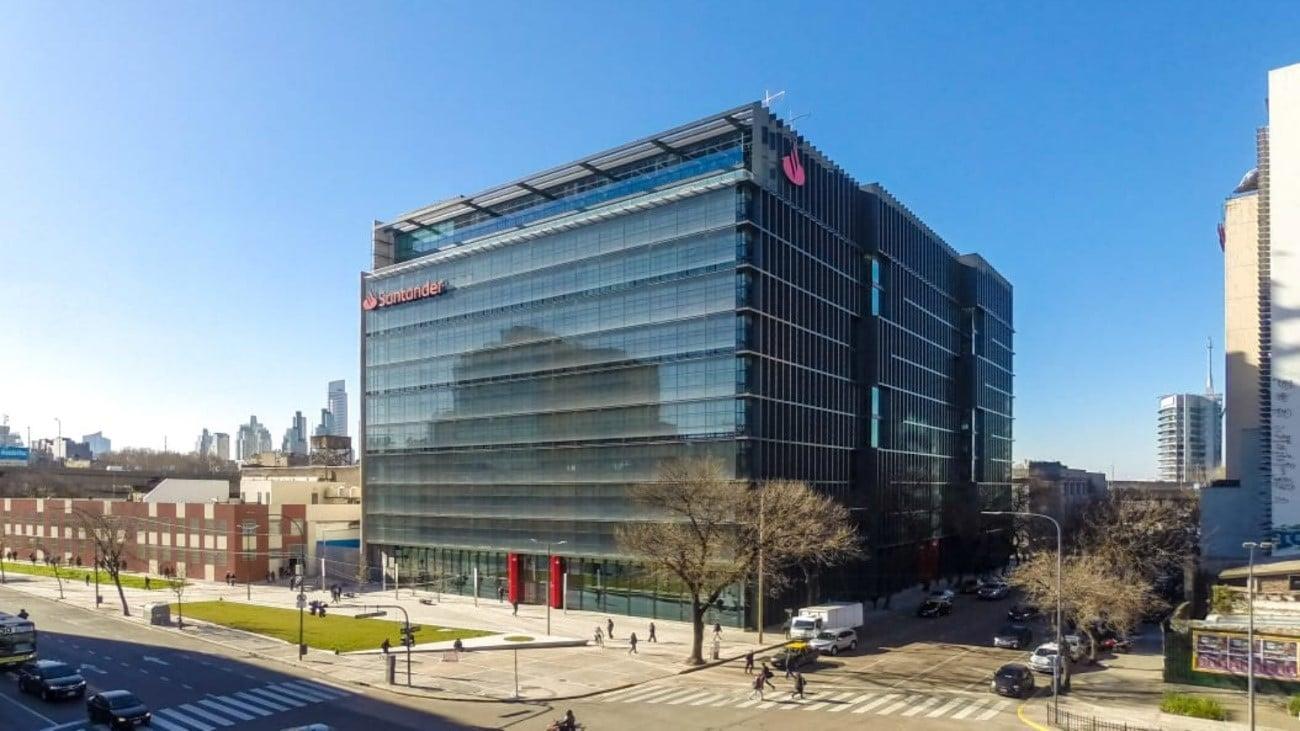 Sede corporativa de Banco Santander en Argentina
