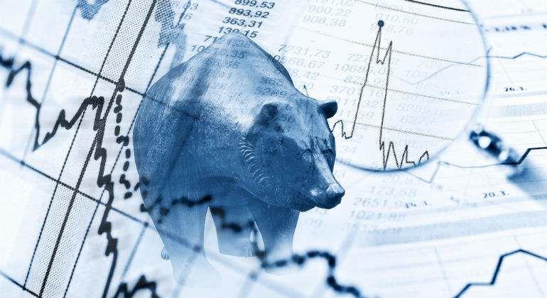 Oso, representando los mercados bajistas