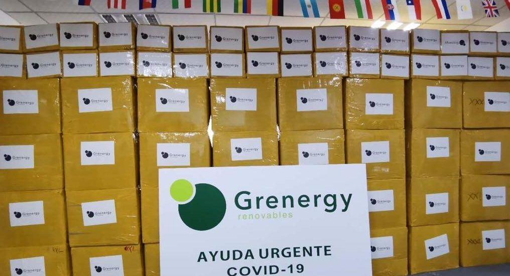 donacion de grenergy por el coronavirus