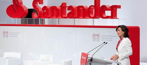 Banco Santander se coloca como tercer mejor valor del año