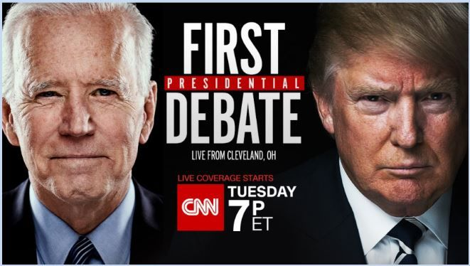 Primer debate presidencial Trump - Biden