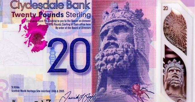 Libras De Escocia E Irlanda Del Norte Que No Emite El Banco De Inglaterra Estrategias De Inversión