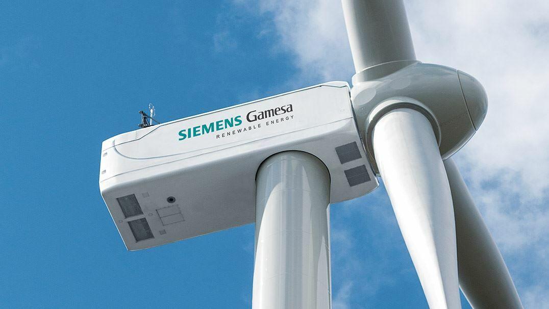 Instalación de Siemens Gamesa