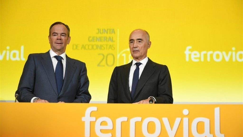 Las acciones de Ferrovial suben un 38% en el Ibex 35 desde enero