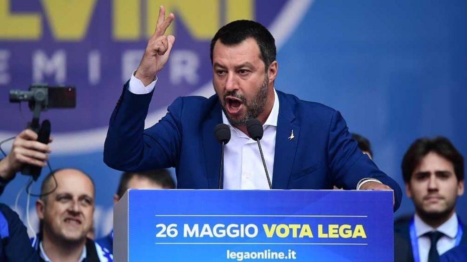 Salvini hace subir la rentabilidad de los bonos en Italia