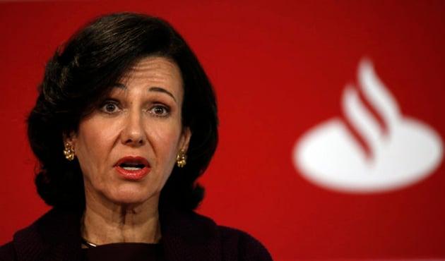En el Ibex 35, las acciones de Santander suben más de un 15% y las de BBVA casi un 18% en el año