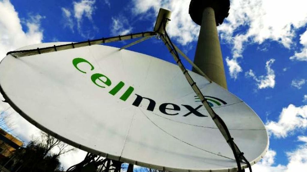 Antenas de Cellnex.
