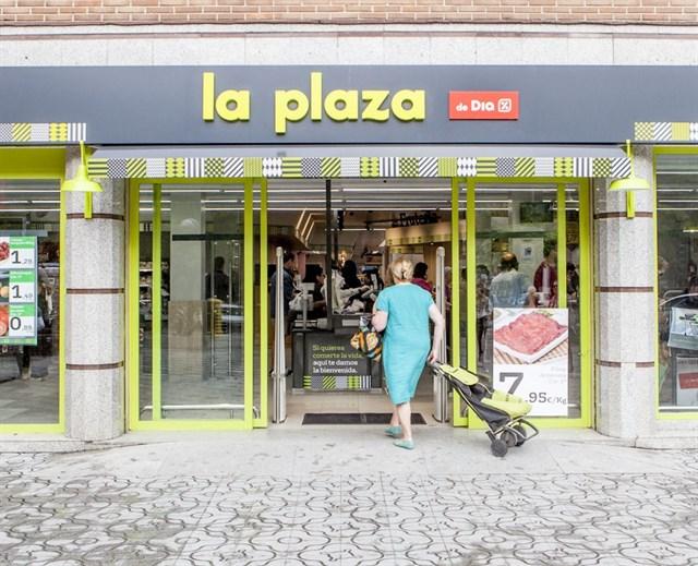 La Plaza de DIA, una nueva tienda de la cadena de supermercados.