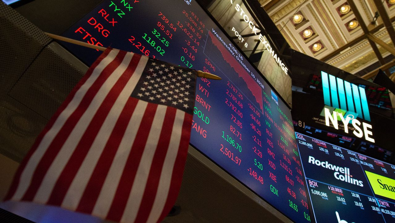 Los índices de Wall Street esperan en rojo el primer debate presidencial Trump - Biden